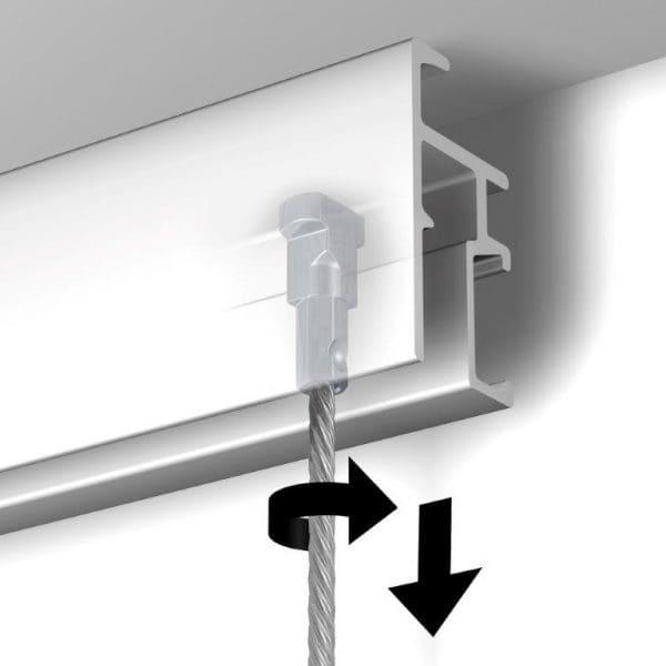 montowanie zaczepu twister w R-20